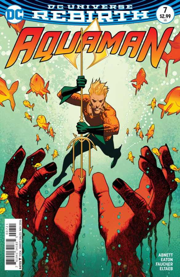 Aquaman # 7 Variant