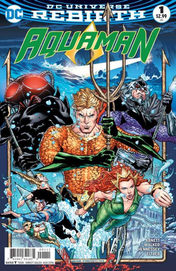 DC - Aquaman # 1