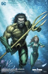 DC - Aquaman Justice League Drowned Earth # 1 Variant