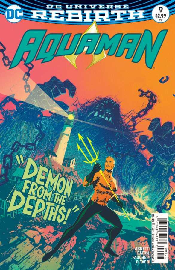 DC - Aquaman # 9 Variant