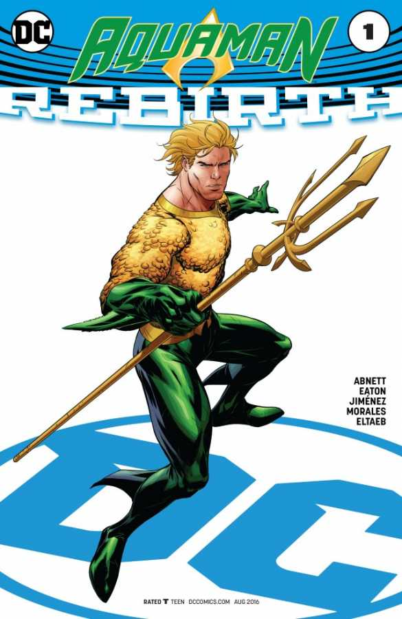Aquaman Rebirth # 1 Variant