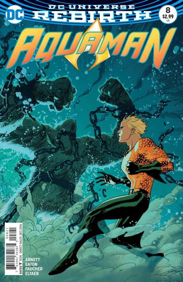 DC - Aquaman # 8 Variant