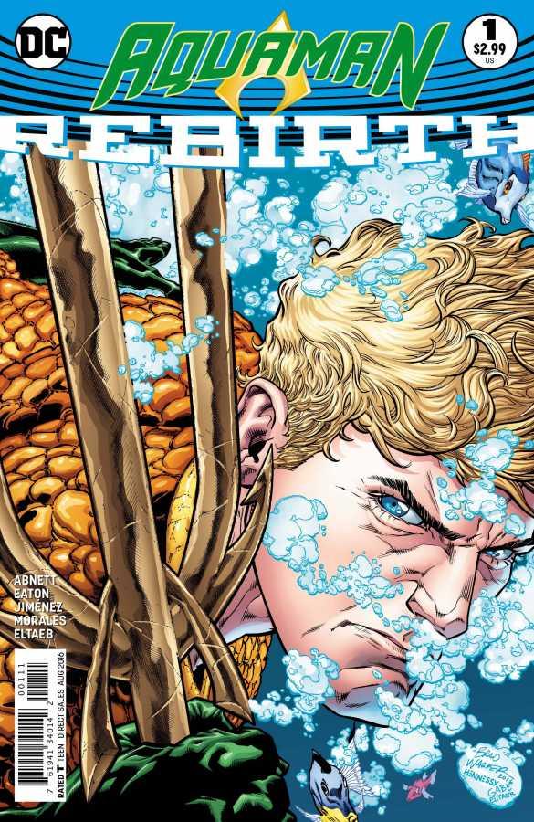 DC - Aquaman Rebirth # 1