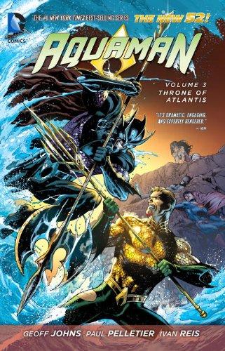 DC - Aquaman (New 52) Vol 3 Throne of Atlantis TPB