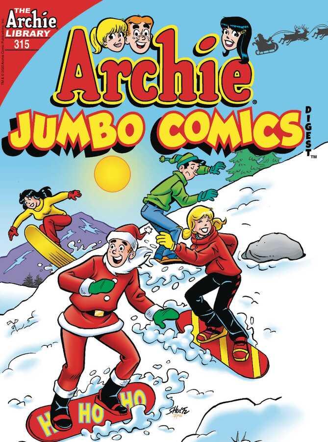 Archie Comics - ARCHIE JUMBO COMICS DIGEST # 315