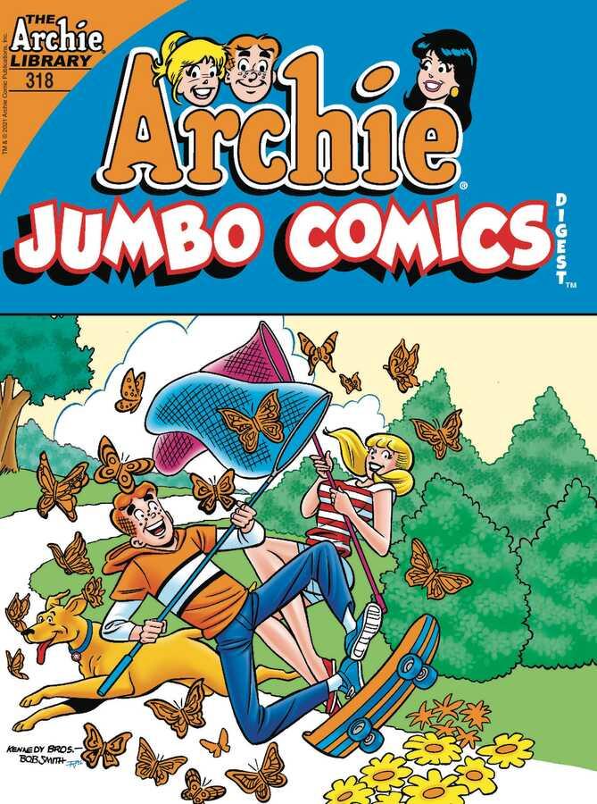Archie Comics - ARCHIE JUMBO COMICS DIGEST # 318