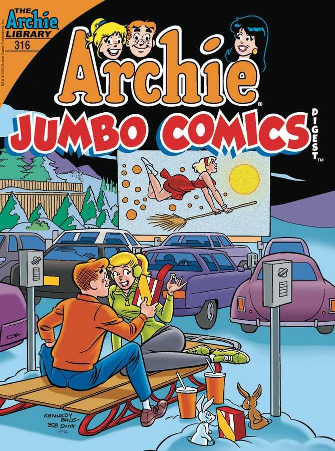 Archie Comics - ARCHIE JUMBO COMICS DIGEST # 316