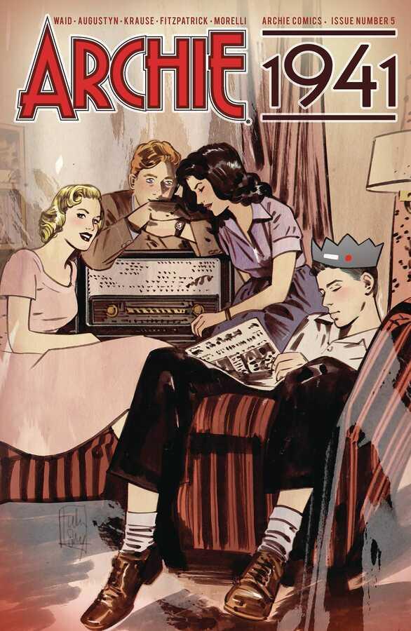 Archie Comics - ARCHIE 1941 # 5 (OF 5) CVR C ORDWAY