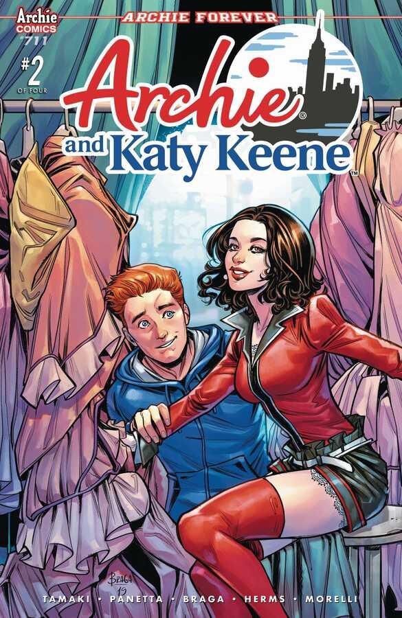 Archie Comics - ARCHIE # 711 (ARCHIE & KATY KEENE PT 2) CVR A BRAGA