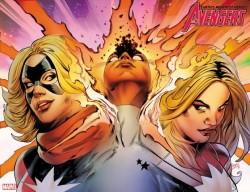 - Avengers # 24 Land Immortal Wraparound Variant