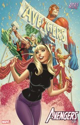 Marvel - Avengers (2018) # 31 J. Scott Campbell Gwen Stacy Variant