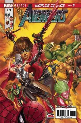Marvel - Avengers # 674