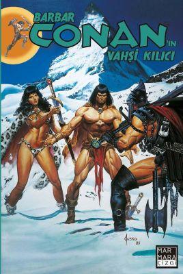 Barbar Conan'ın Vahşi Kılıcı Cilt 23