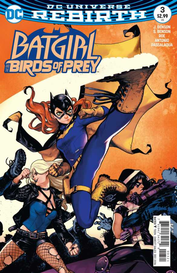 DC - Batgirl And The Birds Of Prey # 3 Variant