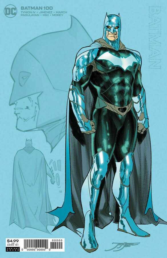 DC - Batman # 100 Joker War 1:25 Variant