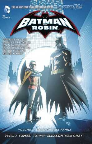 DC - Batman And Robin (New 52) Vol 3 Death Of The Family TPB