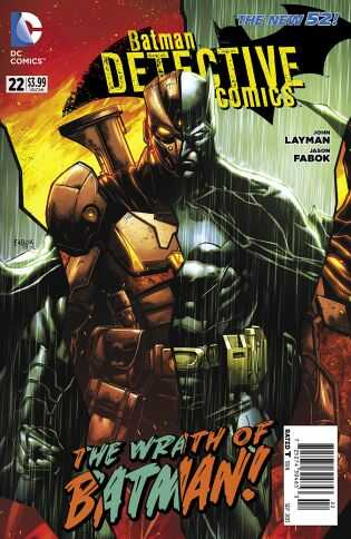DC - Batman Detective Comics (New 52) # 22