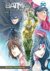 DC - Batman & Justice League Manga Vol 2 TPB