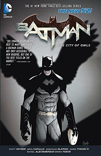 DC - Batman (New 52) Vol 2 The City Of Owls TPB