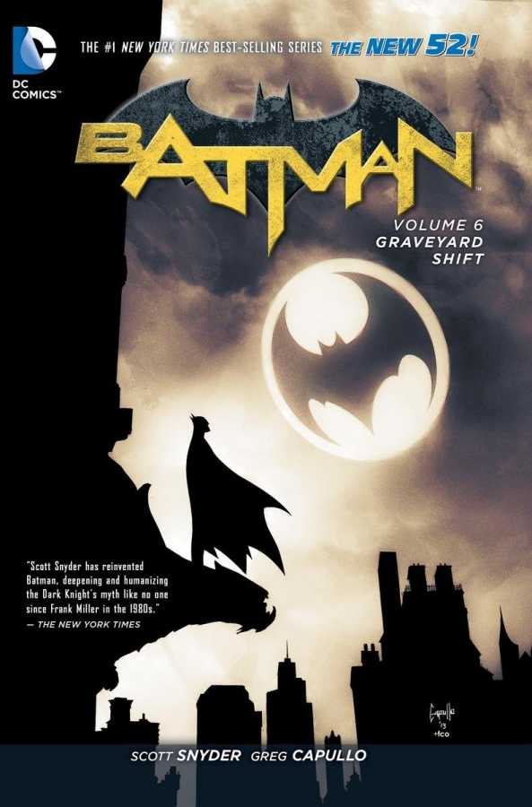 DC - Batman (New 52) Vol 6 Graveyard Shift TPB