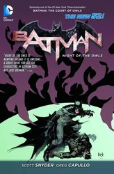 DC - Batman Night Of The Owls (New 52) TPB