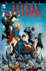 DC - Batman Superman (New 52) Annual # 1