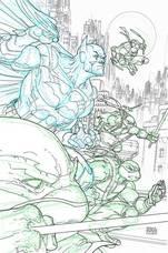 DC - Batman Teenage Mutant Ninja Turtles # 2 4th Printing