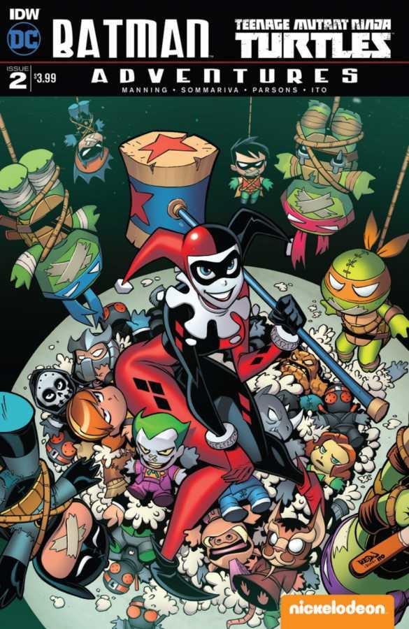 IDW - Batman Teenage Mutant Ninja Turtles Adventures # 2