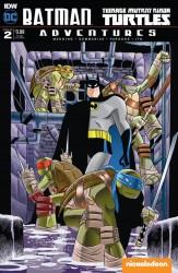 IDW - Batman Teenage Mutant Ninja Turtles Adventures # 2 Subscription Variant 1