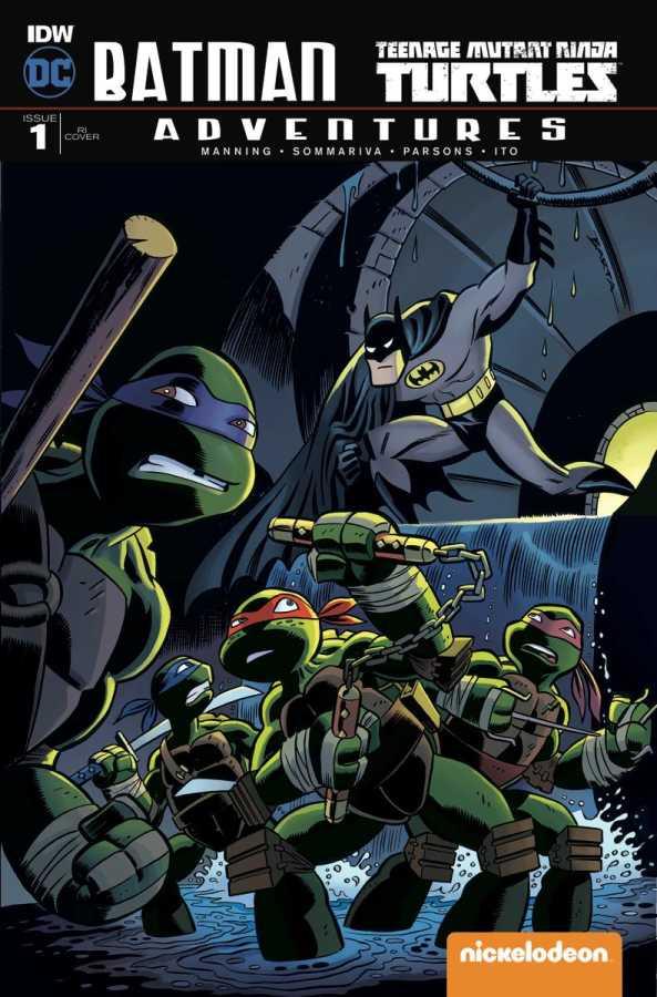 IDW - Batman Teenage Mutant Ninja Turtles Adventures # 1 1:10 Variant