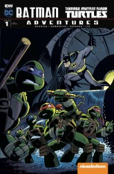 IDW - Batman Teenage Mutant Ninja Turtles Adventures # 1 Variant