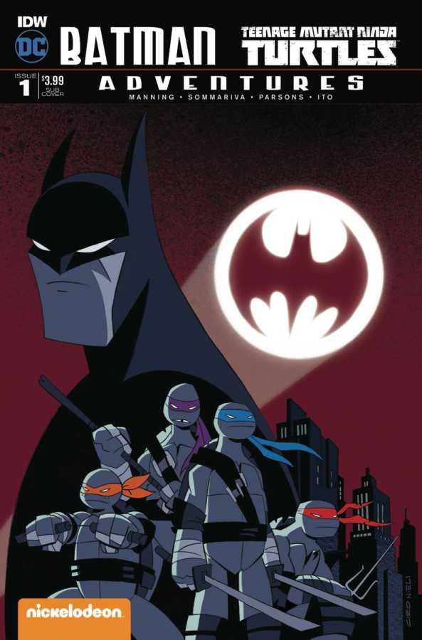IDW - Batman Teenage Mutant Ninja Turtles Adventures # 1 Subscription Variant 2