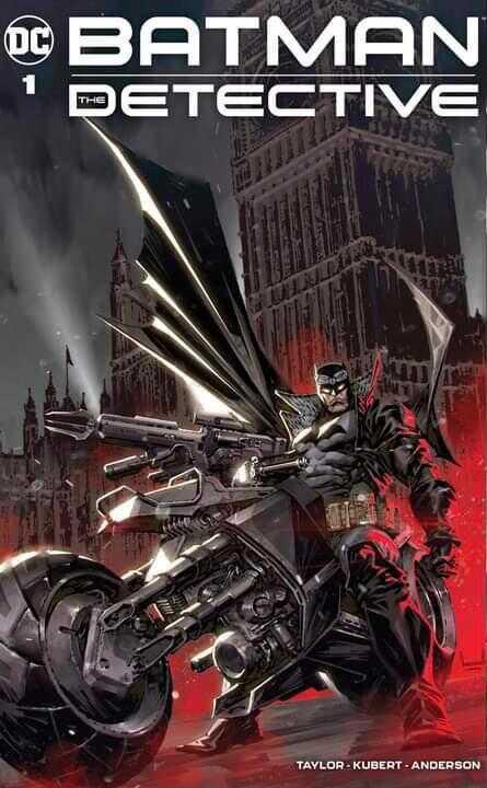 - BATMAN THE DETECTIVE # 1 KAEL NGU EXCLUSIVE VARIANT TRADE DRESS
