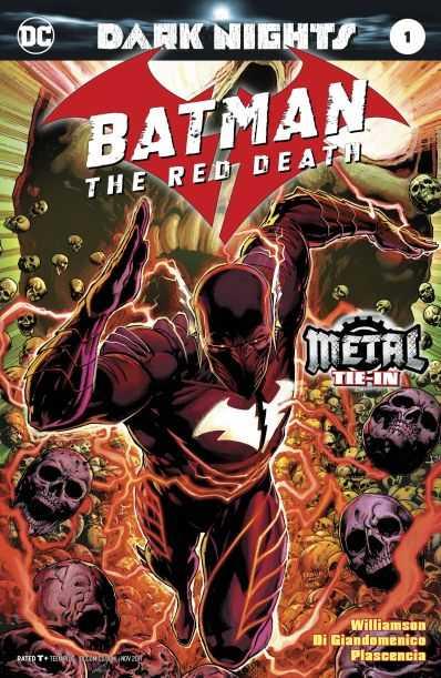 DC - Batman The Red Death (Metal) # 1