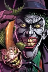 DC - Batman Three Jokers # 1 Premium Variant B Joker Fish Ön Sipariş