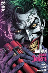 DC - Batman Three Jokers # 1 Premium Variant C Joker Bomb