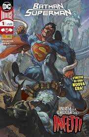 - BATMAN/SUPERMAN # 1 SIMONE BIANCHI PANINI ITALIAN VARIANT