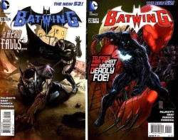 DC - Batwing (New 52) # 19 ve # 20