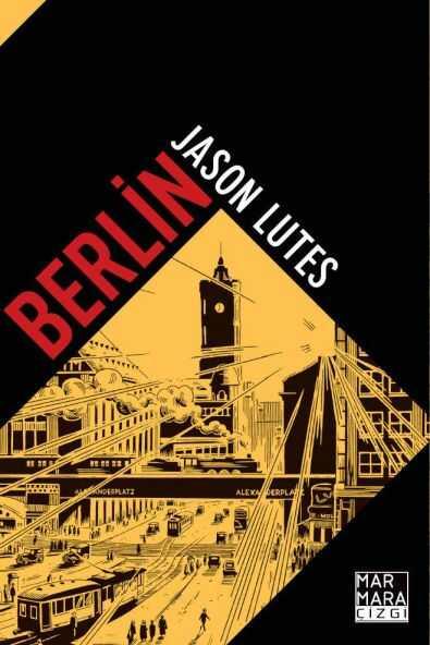 Marmara Çizgi - Berlin Sert Kapak Özel Edisyon