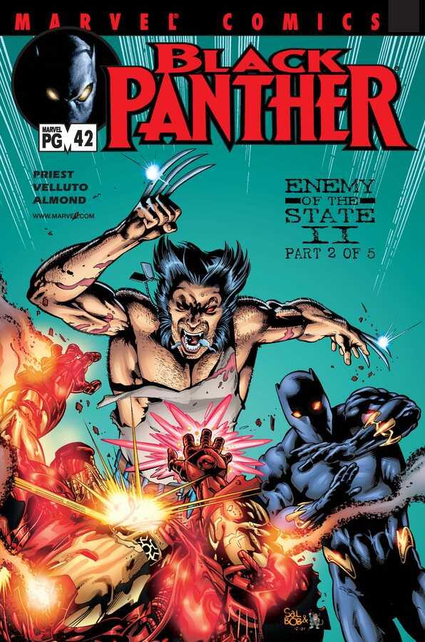 Marvel - Black Panther (1998 2nd Series) # 42