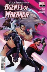 Marvel - Black Panther And Agents Of Wakanda # 2