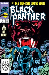 Marvel - Black Panther (1988 Mini Series) #1-3-4