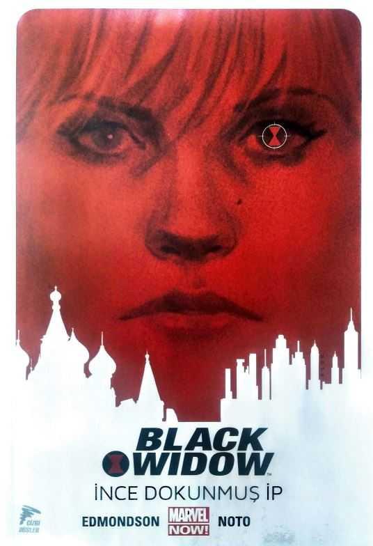 Çizgi Düşler - Black Widow Cilt 1 İnce Dokunmuş İp