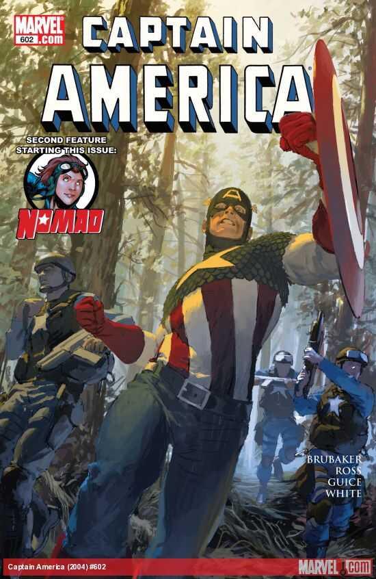 Marvel - CAPTAIN AMERICA (2004) # 602