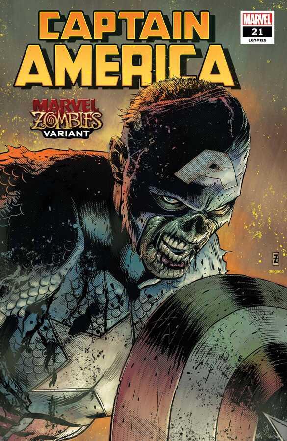 Marvel - Captain America (2018) # 21 Patrick Zircher Marvel Zombies Variant