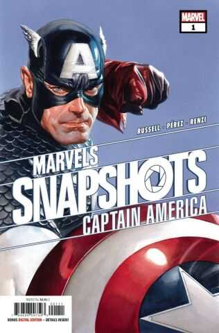 Marvel - Captain America Marvel Snapshots # 1