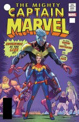 Marvel - Captain Marvel # 125 Mora Lenticular Homage Variant