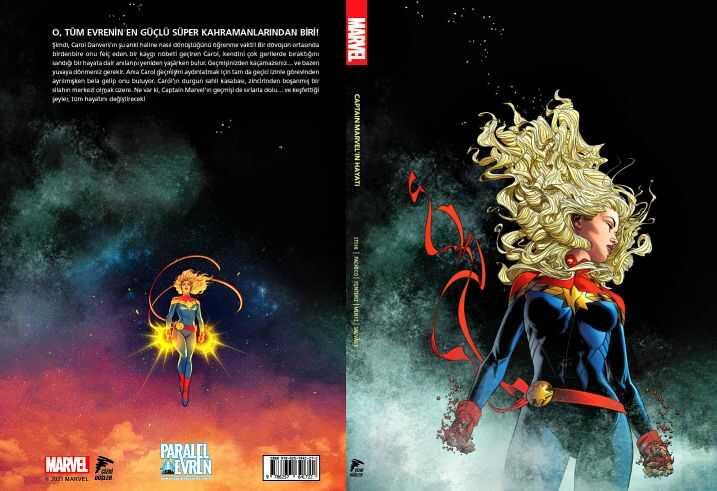 Çizgi Düşler - Captain Marvel'ın Hayatı Paralel Evren 150 Limitli Özel Edisyon