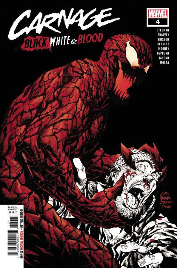Marvel - CARNAGE BLACK WHITE AND BLOOD # 4 (OF 4) (VF)