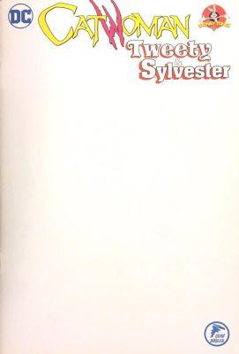 Catwoman Tweety & Sylvester Boş Kapak